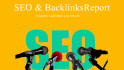 provide SEO Report and Backlinks Report