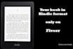 convertir tu pdf o doc en libro para Kindle