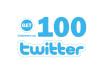 make you twitter with 100 followers
