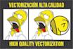 hacer vectorización de calidad excepcional