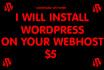 install Wordpress on Your server