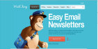 design responsive, editable mailchimp Email template