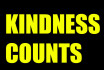 do a random act of kindness and spread happiness
