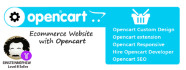 fix, create or customize your Opencart eCommerce site