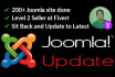 update your joomla safely to latest version