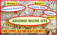 teach you how to create an Adsense Income Generating Website