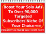 boost Your Solo Ads To Over 90,000  Targeted Subscribers Niche Of Your Choice