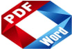 convert your PDF document file to Word