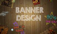 create a banner design Ibest practices in designing