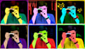create an Andy Warhol style image from your photo