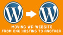 transfer wordpres website in other domain or hosting