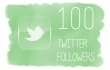 deliver 100 genuine Twitter followers
