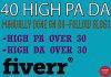 manually do 40 High Pa and Da blog comment backlinks