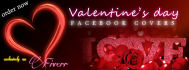 create Facebook cover for Valentines day