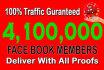 do a Tremendous Social Marketing Promotion 4100000 members