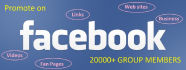 promote Your Website, Business,Link Over 30000 Facebook Group members