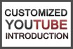 create a custom YouTube intro for your channel