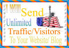 send Unlimited USA traffic To Your Site For 7Days