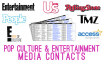 provide you with 1,500 pop culture media contacts