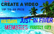create a video with pictures