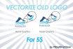 vectorize your current LOGO and send you editable  vector ai printable