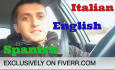 say Anything You Want While Driving My Car, In Italian, English, Spanish