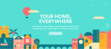 create a modern flat design flyer or banner for you in 24hrs
