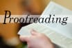 professionally Proofread upto 1000 words