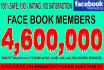 promote your link on 4,600,000 real members