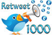 get You 1 000 Real Human Twitter Retweet Within Few Hours