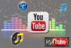 give you AUDIO mp3 files of 10 youtube videos
