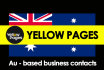 scrap 1000 AU Local business from au Yellowpages