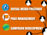 manage Social Media Presence for your brand