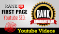 do SEO and Rank Your Video On Page 1 of YouTube