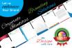 design letterhead, logo, brand identity stationery