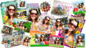 add your foto to 3 Easter Frames, 40 different varieties