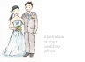 create art of your wedding photo