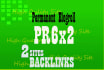 give link PR6x2 site blogroll permanent