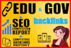 publicar 12 backlinks con alto pr Sitios edu y gov de USA y el mundo