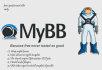 setup mybb forum, wordpress blog install useful plugin and themes with SEO jobs