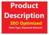 write SEO Optimized Product Description