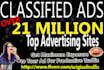 submit your Classified Ad to over 21 million USA advertising sites