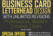 design AWESOME layout of business card