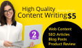 write 300 to 1300 Words Quality Article