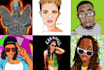 draw cool portrait illustrations and more