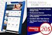design Professional Complete eBay Store Template