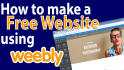 help you  create and design Weebly website