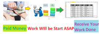 do 5 hour Data Entry,Copy and Paste,Pdf To Excel And As Virtual Assistant