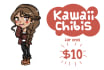 draw a kawaii chibi version of you