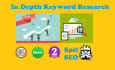 run in depth keyword research for your website